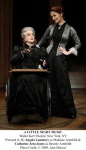Pictured (L-R) Angela Lansbury as Madame Armfeldt & Catherine Zeta-Jones as DesirÈe Armfeldt