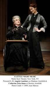 Pictured (L-R) Angela Lansbury as Madame Armfeldt & Catherine Zeta-Jones as DesirÈe Armfeldt