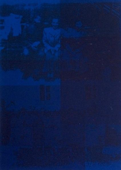 Blå. Screentryck, 47,5x35, 1997-98.