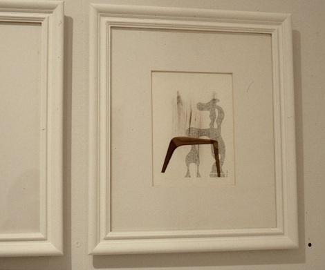 Galerie Ann Westin, Stockholm 1990. Dia.
