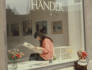 Galleri Händer, Stockholm 1981. Dia.