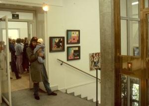 Höstsalongen, Halmstad Konstmuseum 1982. Dia.