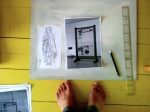 Work in progress. Digitalfoto, 2011.